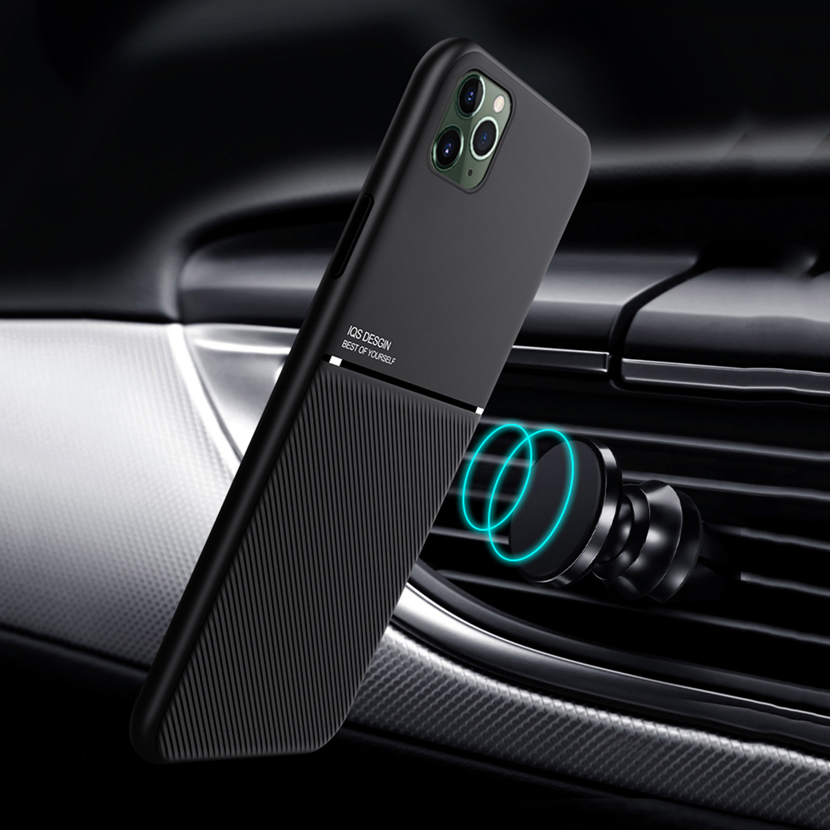 Luxury Rubber Slim Back TPU Case Cover For iPhone 12 Pro ...